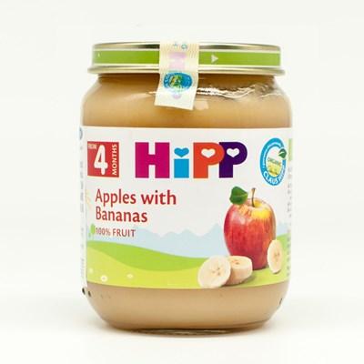 Dinh dưỡng đóng lọ Hipp chuối táo (125g)