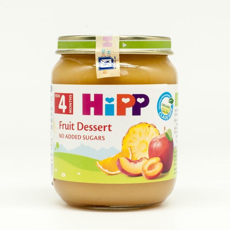 Dinh dưỡng đóng lọ Hipp hoa quả tráng miệng (125g)