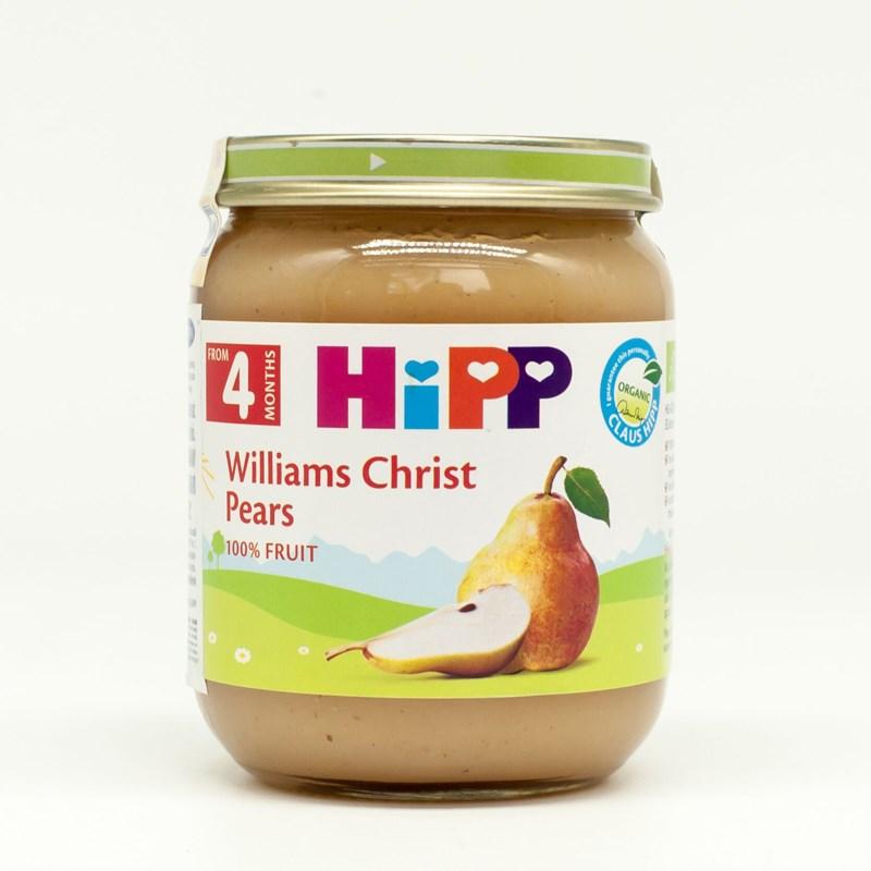 Dinh dưỡng đóng lọ HiPP Lê williams 125g