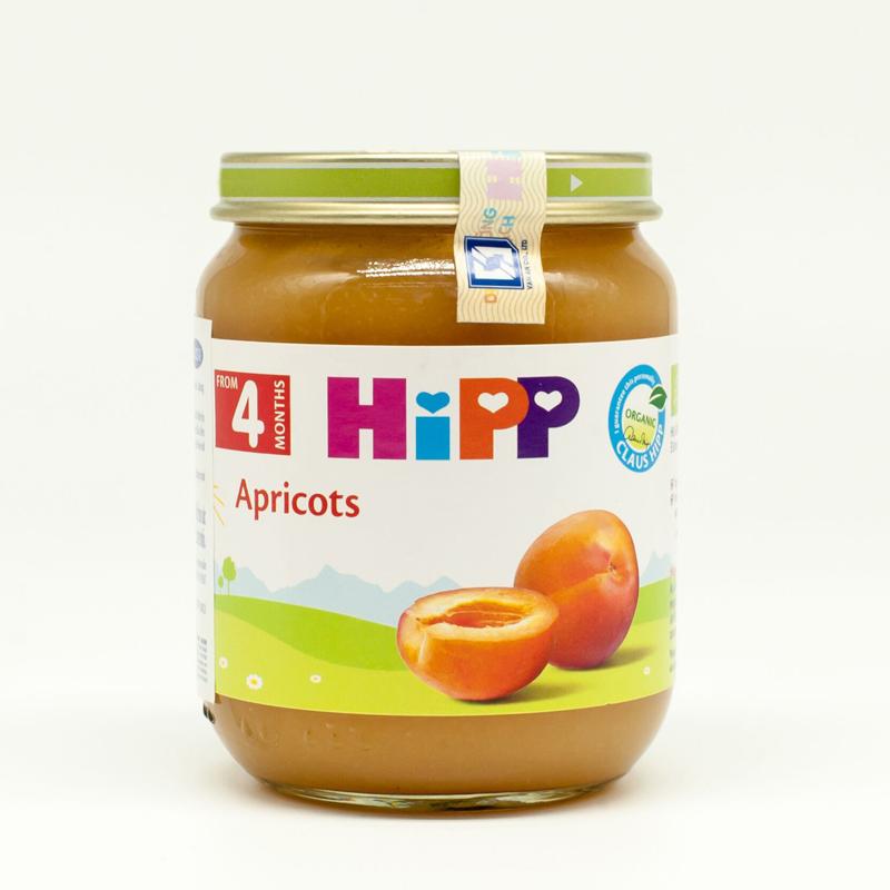 Dinh dưỡng đóng lọ HiPP mơ tây (125g)