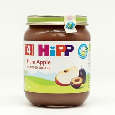 Dinh dưỡng đóng lọ HiPP táo tây, mận tây 125g