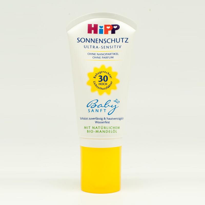 Kem chống nắng an toàn cho trẻ em HiPP 9641-F