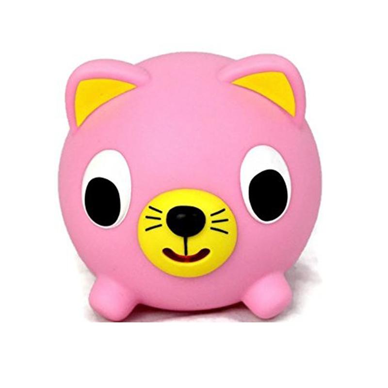 Đồ chơi bóp chíp quả bóng Sankyo Toys hình mèo