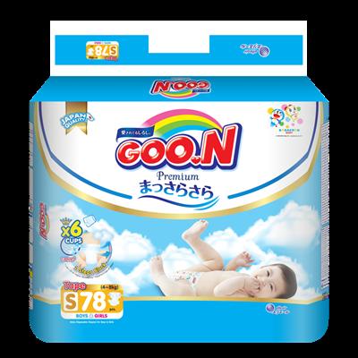Tã - Bỉm dán GOO.N Premium S78 (4-8kg)
