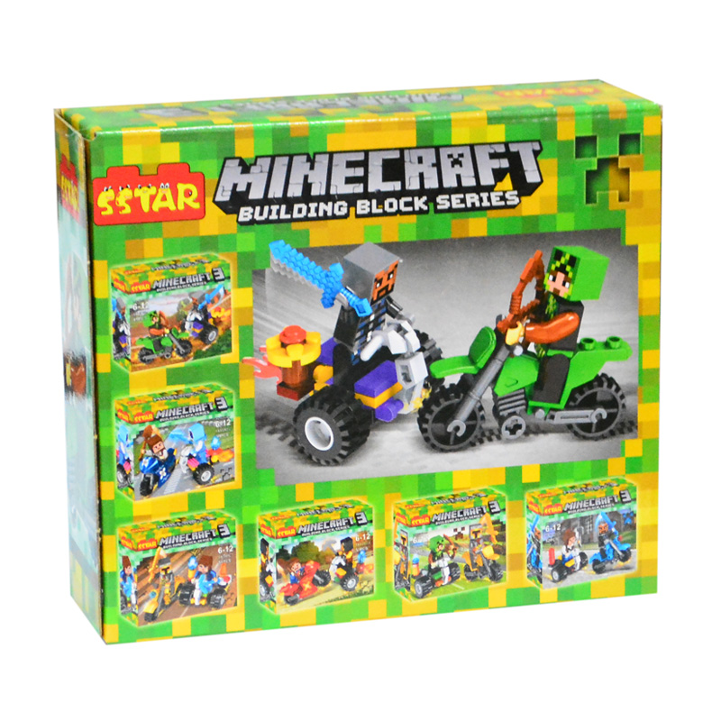 Hộp lắp ráp lego Mywords Minecraft 49 chi tiết 6H-10002