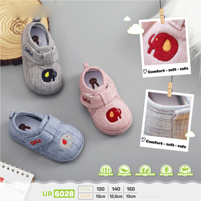 Giày tập đi Uala Rogo UR6028 (nhiều màu)
