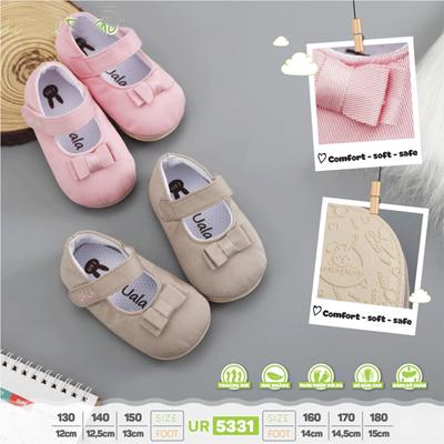 Giày tập đi bé gái Uala UR5272 (nhiều màu)