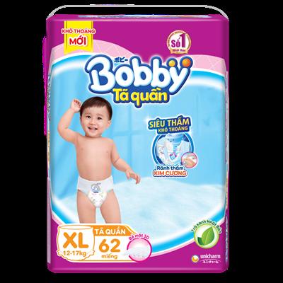 Tã - Bỉm quần Bobby XL62 (12 - 17kg)