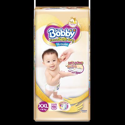 Tã Bỉm quần Bobby Extra Soft Dry XXL46 (>16kg)