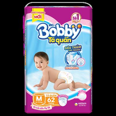 Tã Bỉm quần Bobby M62 (6-10kg)