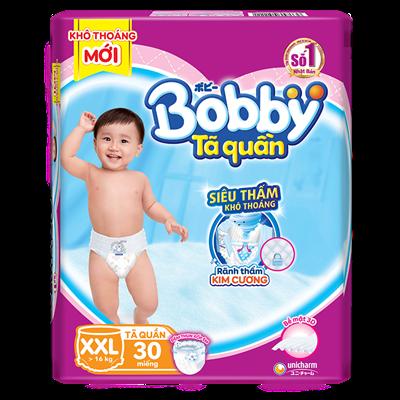 Tã Bỉm quần Bobby XXL30 (>16kg)