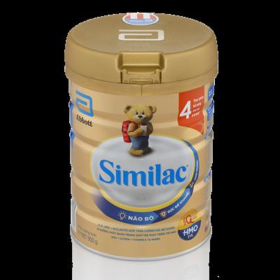 Sữa Similac IQ Plus HMO số 4 - 900g (2-6 tuổi)