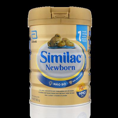 Sữa Similac Newborn IQ plus HMO số 1 900g (0-6 tháng)