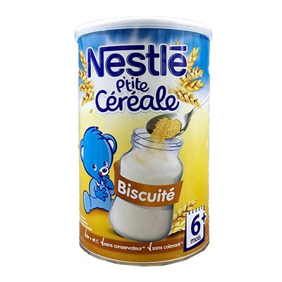 Bột pha sữa Nestle vị Biscuit 400g (6m+)