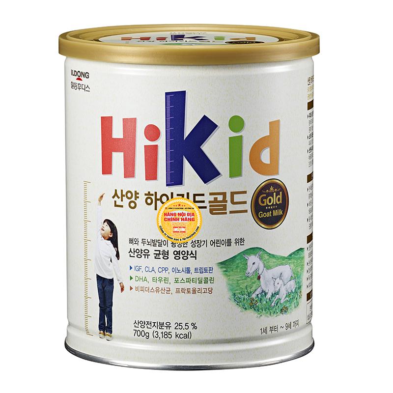 Sữa dê HiKid 700g