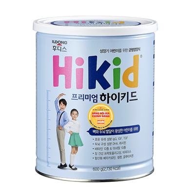 Sữa Hikid Premium - Hàn Quốc tăng trưởng chiều cao (600g)