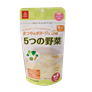 Cháo gạo Koshihikari 5 loại rau Matsuya 60g (5M+)