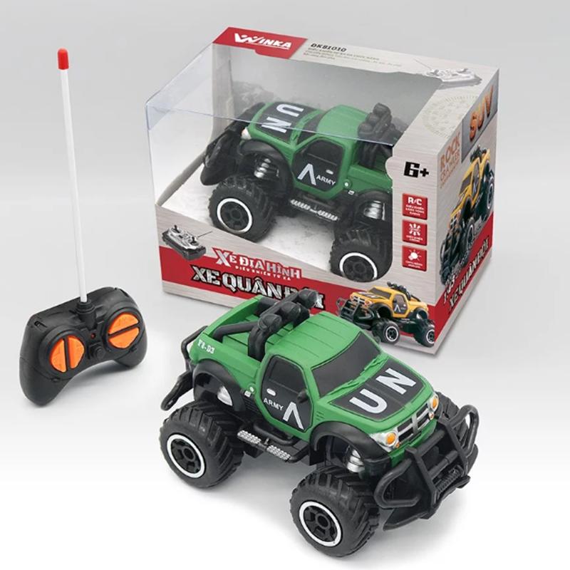 Đồ chơi xe địa hình điều khiển từ xa - Quân Đội DK81010
