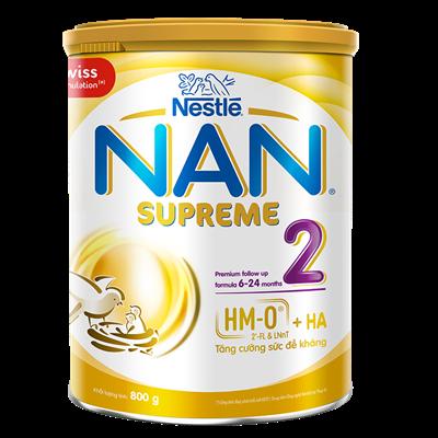 Sữa Nan Supreme số 2 800g (6-24M)
