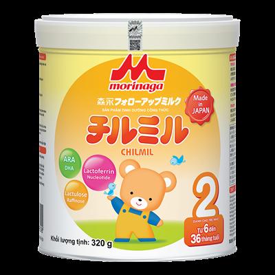 Sữa Morinaga Chilmil số 2 (320g)