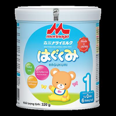 Sữa Morinaga Hagukumi số 1 (320g)