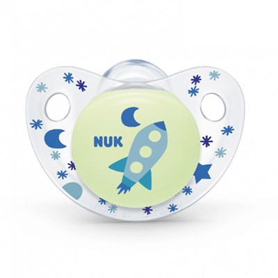 Ty ngậm Nuk Night/Day silicone NU48149, NU48150 (0m+)