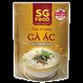 Cháo bổ dưỡng SG Food gà ác nhân sâm (240g)