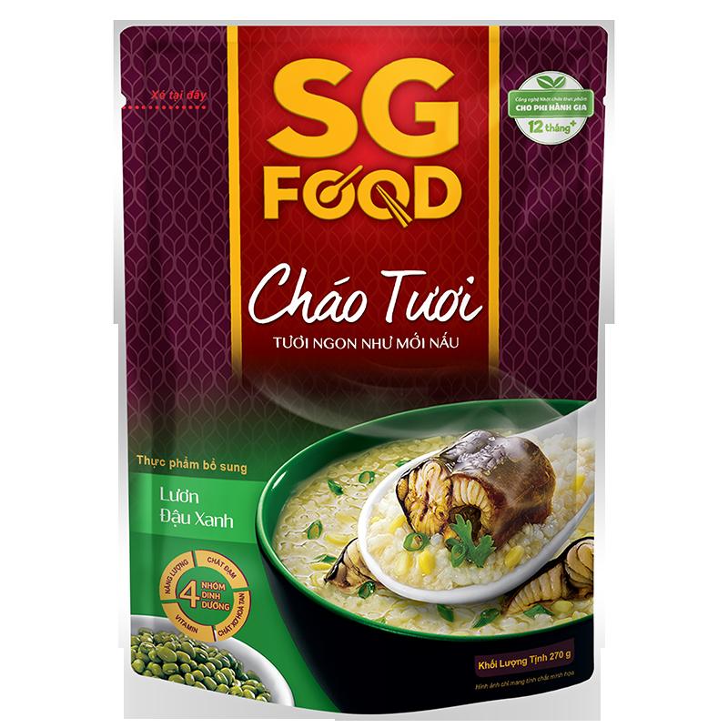 Cháo tươi SG Food - Lươn đậu xanh 270g