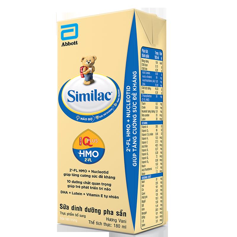 Sữa Similac Eye-Q 4 hương vani (hộp)