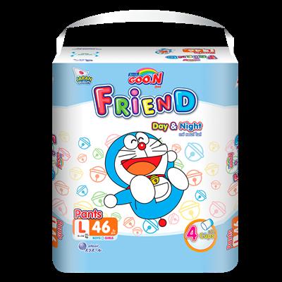 Tã bỉm quần Goo.N Friend L46 (9-14kg)