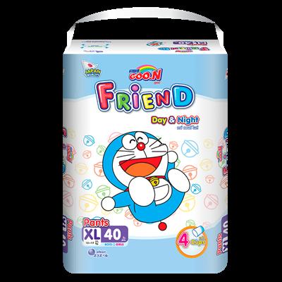 Tã bỉm quần Goo.N Friend XL40 (12-17kg)