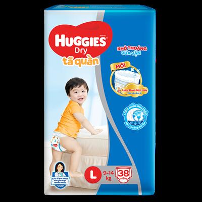 Tã bỉm quần Huggies L38 (9-14kg)