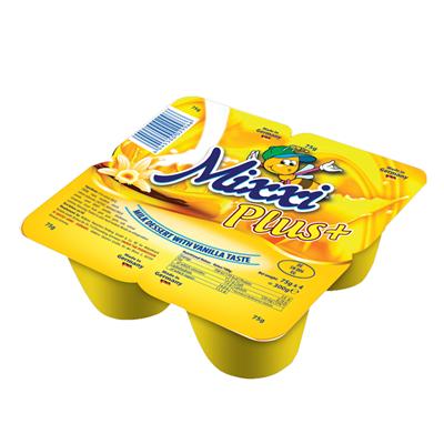 Váng sữa Mixxi vanilla Plus (4*75g)