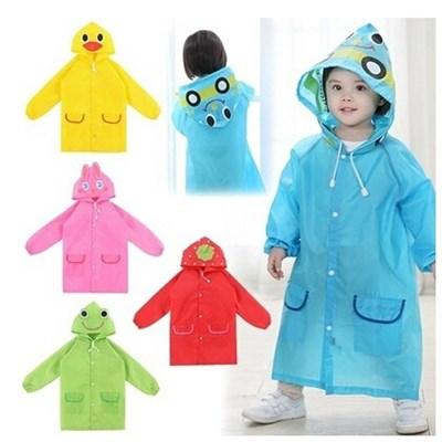 Áo mưa trẻ em hình thú