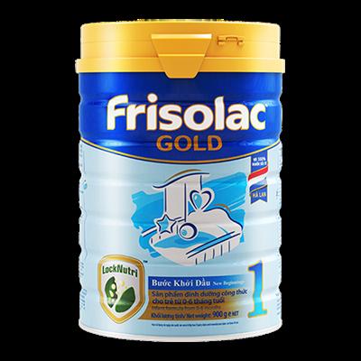 Sữa Frisolac Gold số 1 - 900g (0-6 tháng)