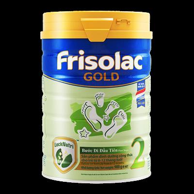 Sữa Frisolac Gold số 2 - 900g (6-12 tháng)