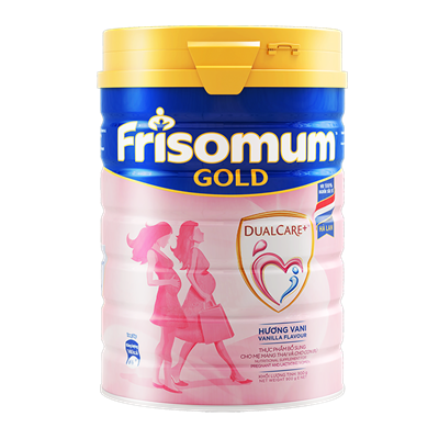 Sữa Frisomum Gold hương Vani - 900g