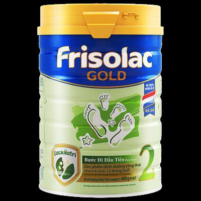 Sữa Frisolac Gold số 2 - 400g (6-12 tháng)
