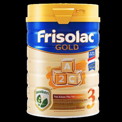 Sữa Frisolac Gold số 3 vị Vani - 400g