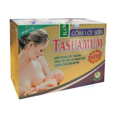 Cốm lợi sữa Tasuamum Gold cho mẹ sau sinh