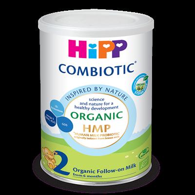 Sữa bột HiPP Organic Combiotic số 2 - 350g (6-12 tháng)