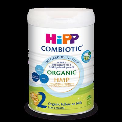 Sữa bột HiPP Organic Combiotic số 2 - 800g (6-12 tháng)