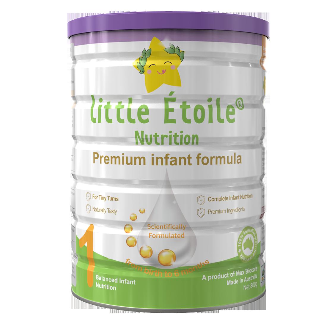 Sữa bột ngôi sao nhỏ Little Étoile số 1 (0-6 tháng) 800g