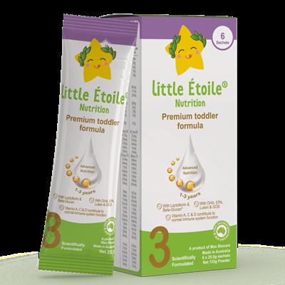 Sữa bột ngôi sao nhỏ Little Étoile số 3 dạng gói (153g)