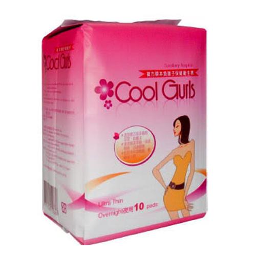 Băng vệ sinh Cool Gurls đêm (10 miếng)