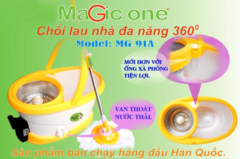 Cây lau nhà Magic one MG91A