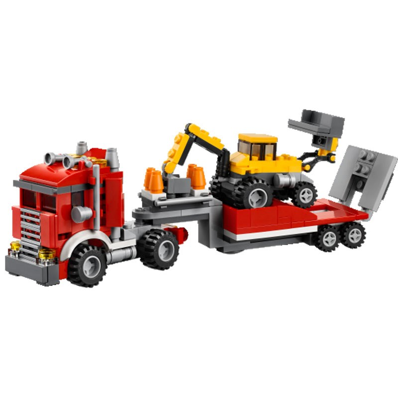 Do choi xep hinh LEGO 31005 Construction Hauler